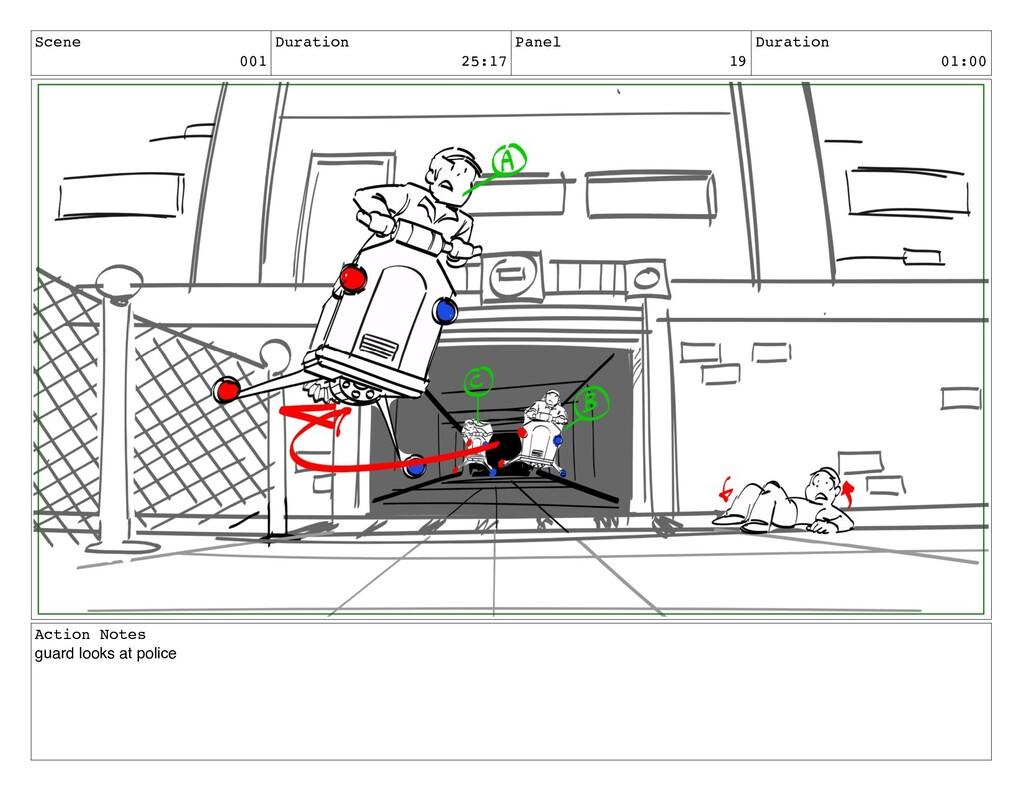 Scene 001 Duration 25:17 Panel 19 Duration 01:0...