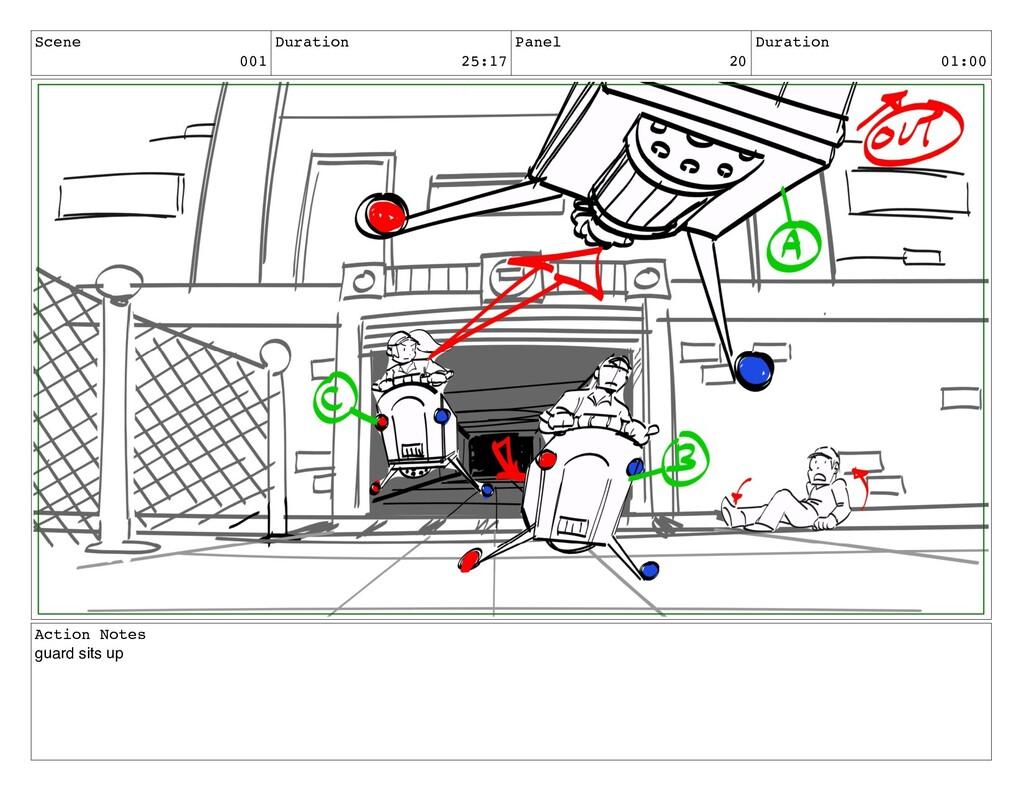 Scene 001 Duration 25:17 Panel 20 Duration 01:0...