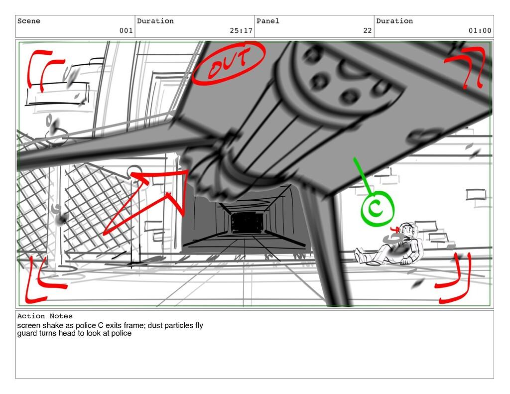 Scene 001 Duration 25:17 Panel 22 Duration 01:0...