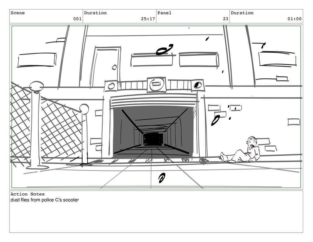Scene 001 Duration 25:17 Panel 23 Duration 01:0...