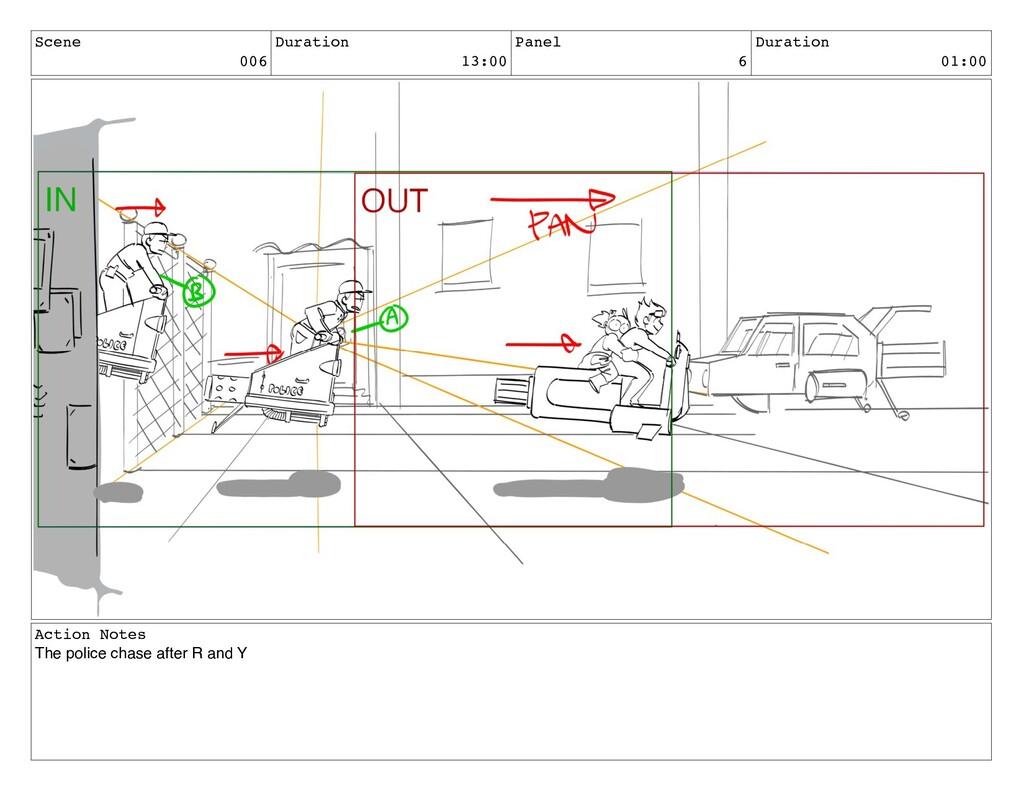 Scene 006 Duration 13:00 Panel 6 Duration 01:00...