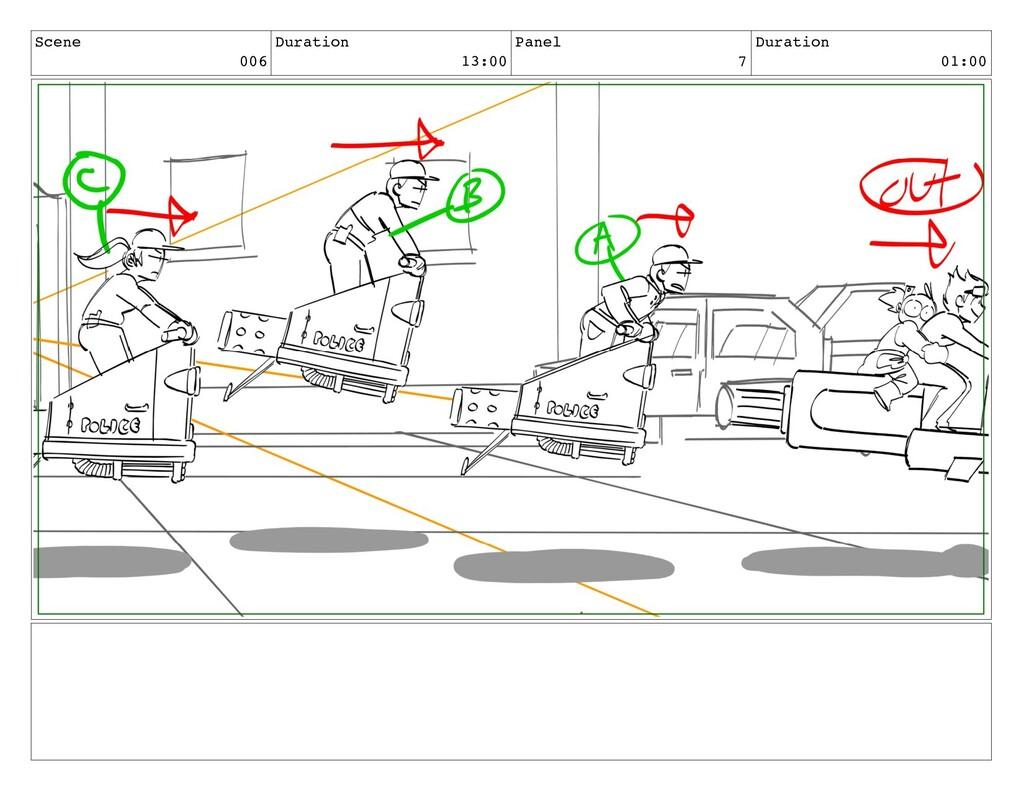 Scene 006 Duration 13:00 Panel 7 Duration 01:00
