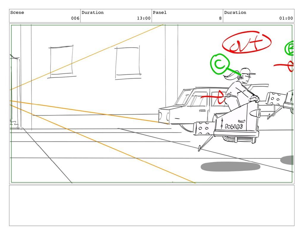 Scene 006 Duration 13:00 Panel 8 Duration 01:00