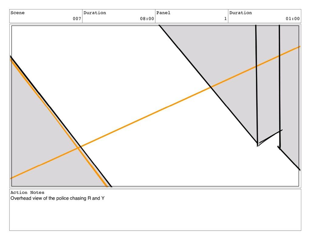 Scene 007 Duration 08:00 Panel 1 Duration 01:00...