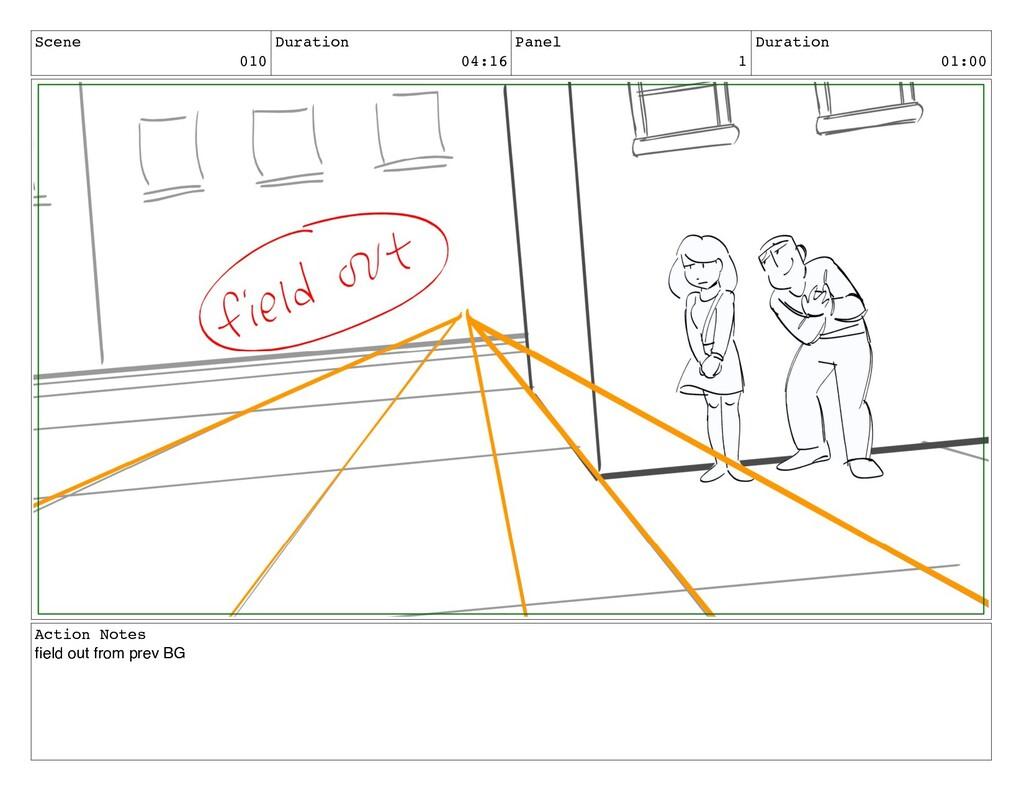 Scene 010 Duration 04:16 Panel 1 Duration 01:00...