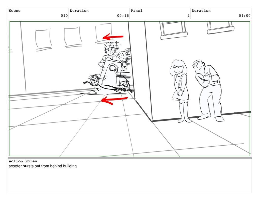 Scene 010 Duration 04:16 Panel 2 Duration 01:00...