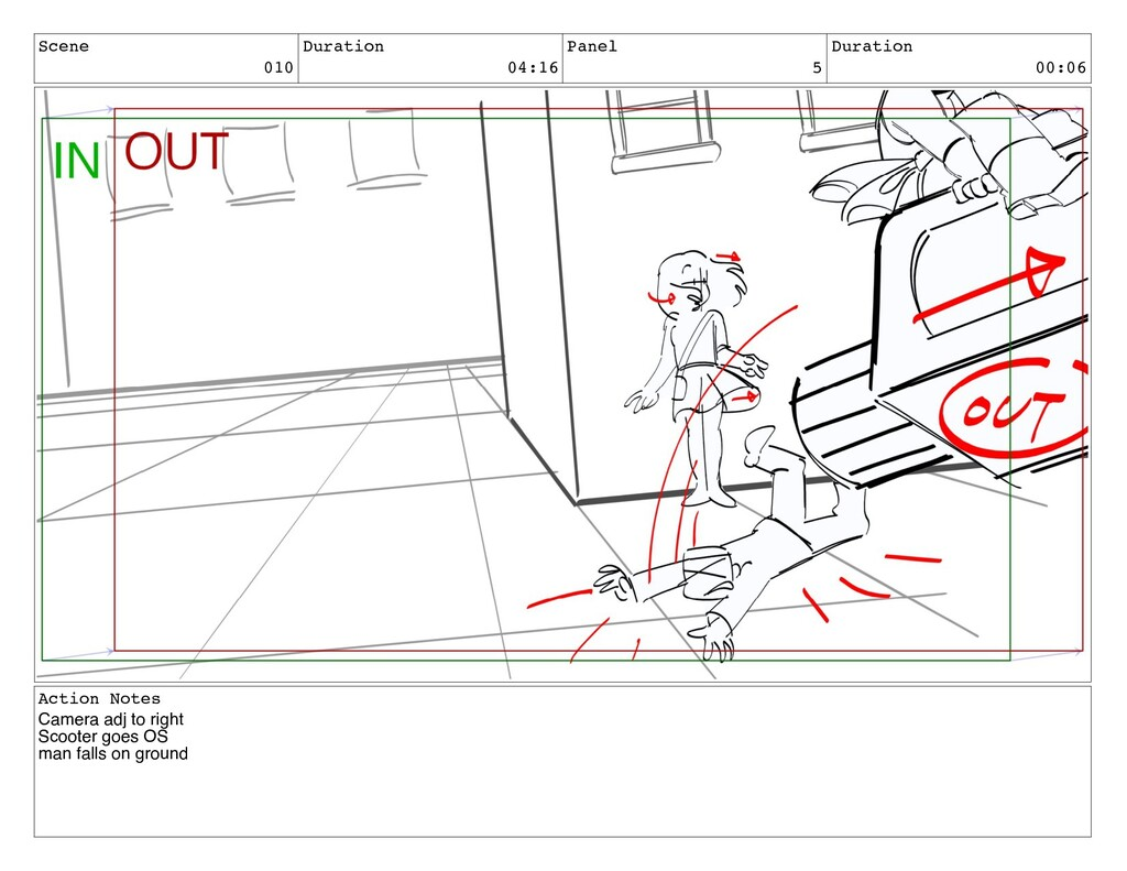 Scene 010 Duration 04:16 Panel 5 Duration 00:06...