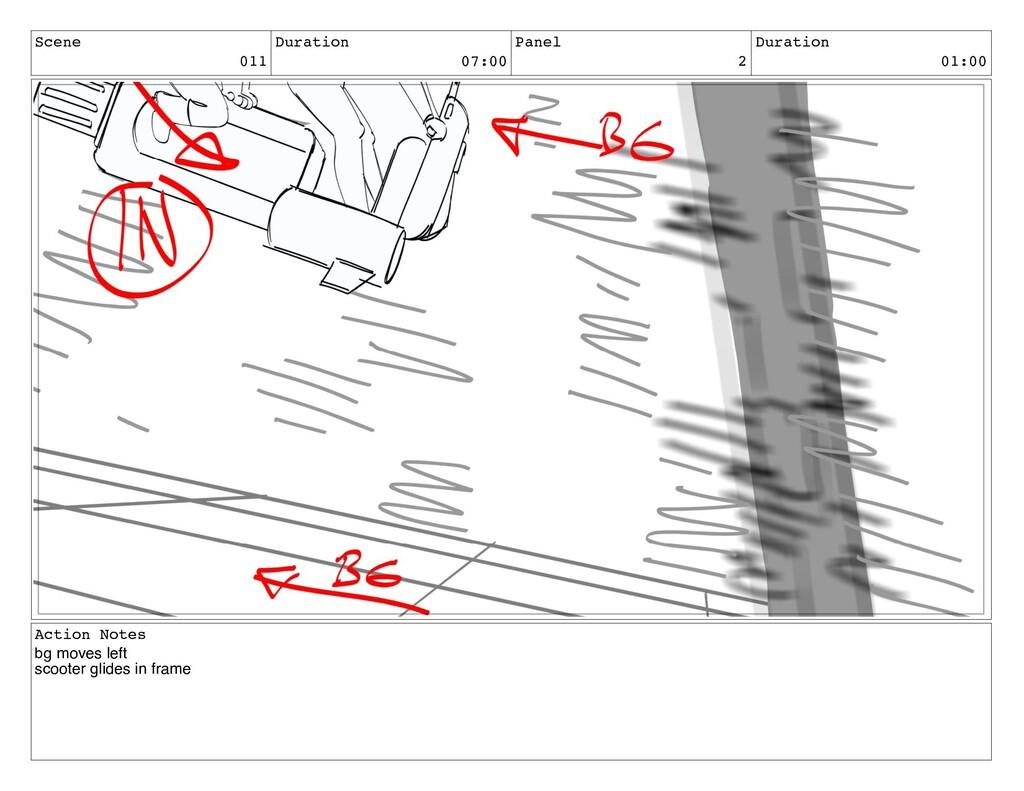 Scene 011 Duration 07:00 Panel 2 Duration 01:00...