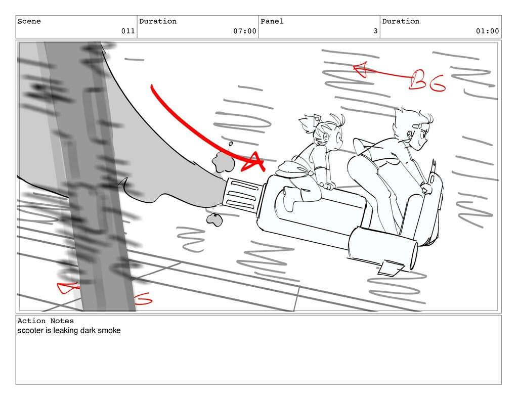 Scene 011 Duration 07:00 Panel 3 Duration 01:00...