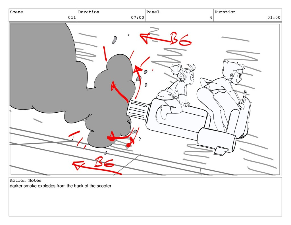 Scene 011 Duration 07:00 Panel 4 Duration 01:00...