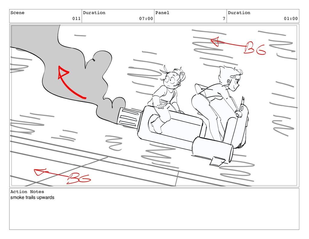 Scene 011 Duration 07:00 Panel 7 Duration 01:00...