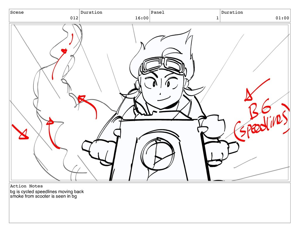 Scene 012 Duration 16:00 Panel 1 Duration 01:00...