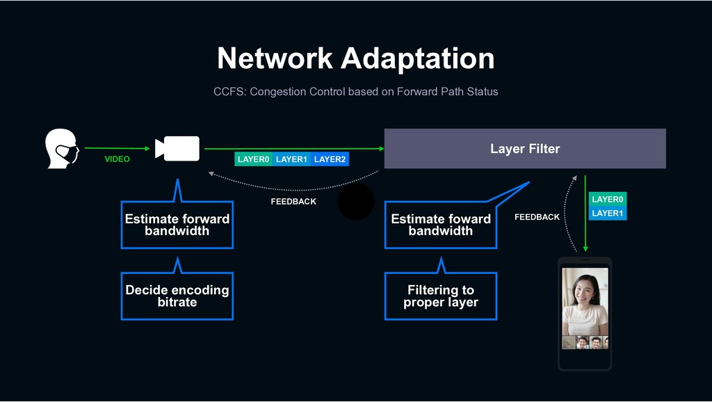 Network Adaptation CCFS: Congestion Control bas...