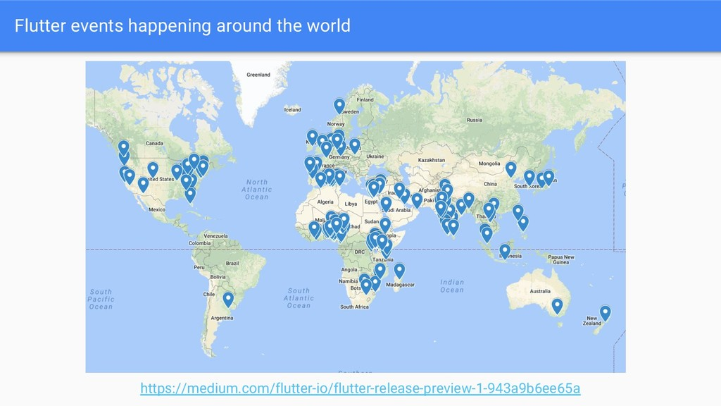 Flutter events happening around the world https...