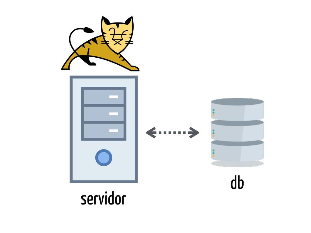 servidor db