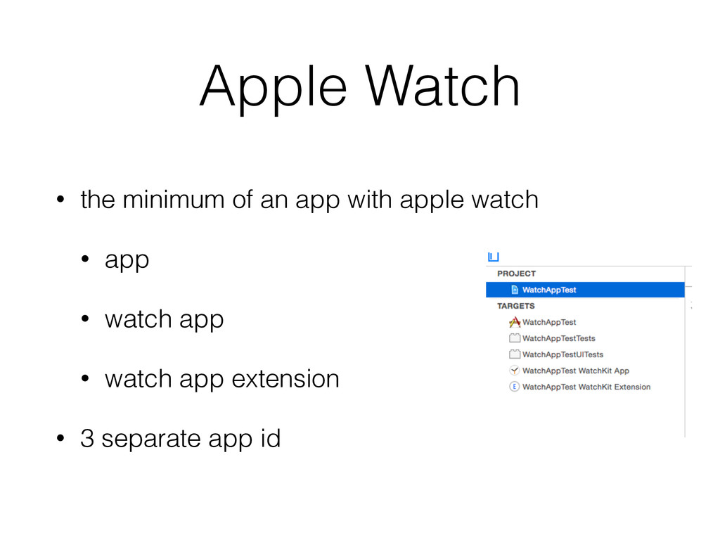 Apple Watch • the minimum of an app with apple ...