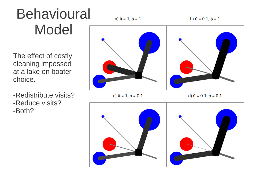 Behavioural Model The effect of costly cleaning...