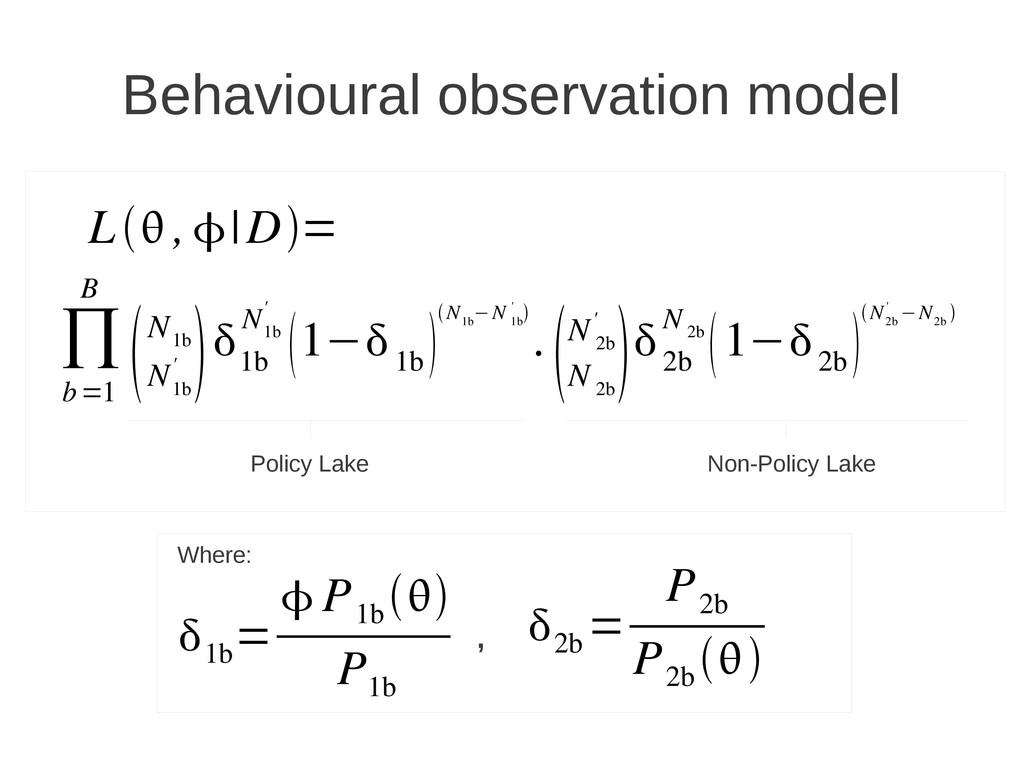 1b =  P 1b  P 1b ∏ b=1 B N 1b N 1b '  1...