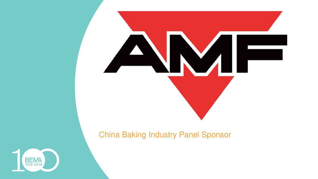 China Baking Industry Panel Sponsor