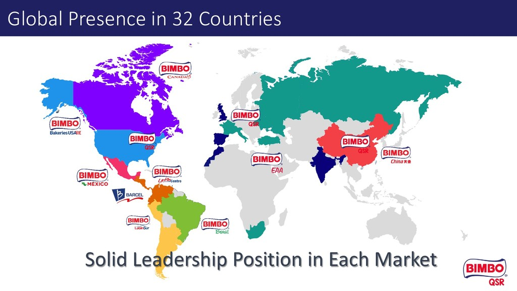 Global Presence in 32 Countries Solid Leadershi...