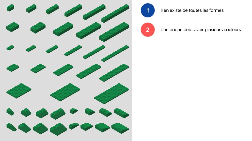 1 Il en existe de toutes les formes 2 Une briqu...