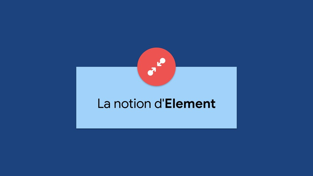 La notion d'Element