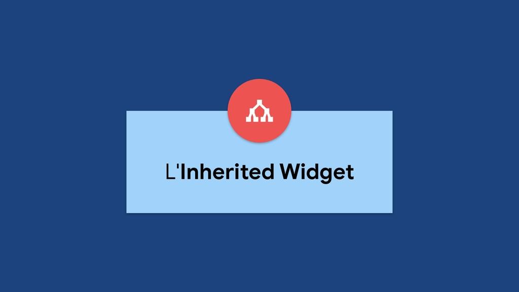 L'Inherited Widget