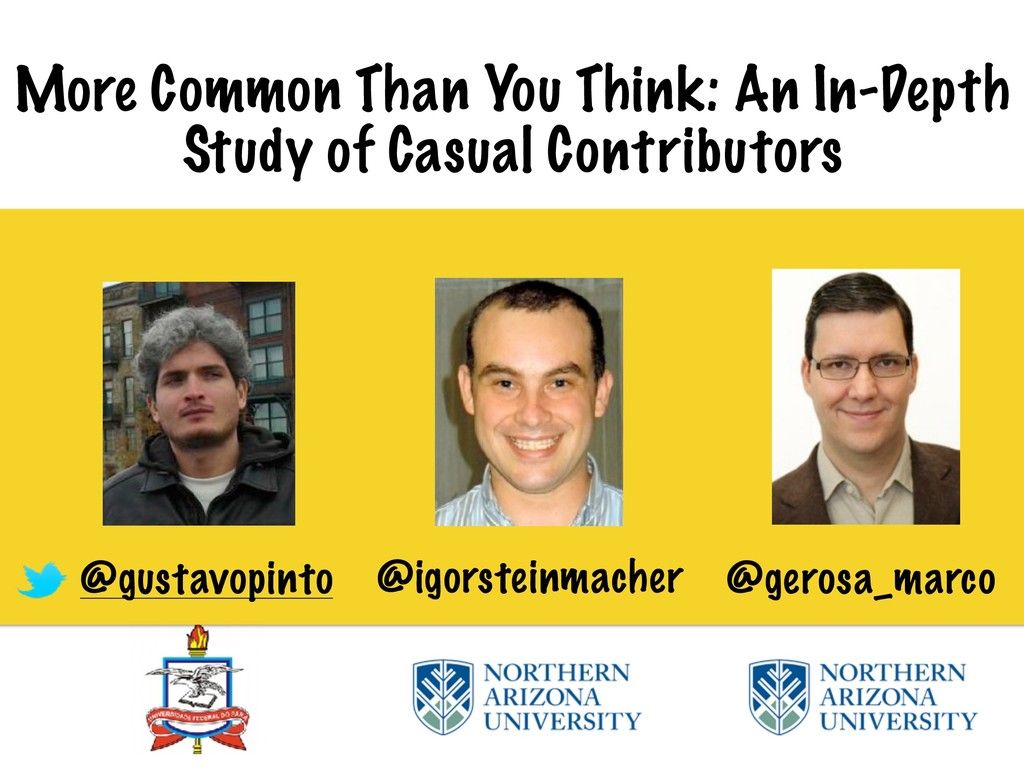 More Common Than You Think: An In-Depth Study o...