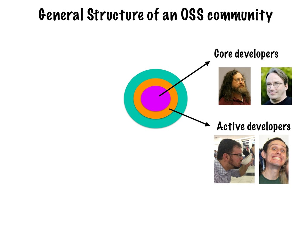Core developers Active developers General Struc...