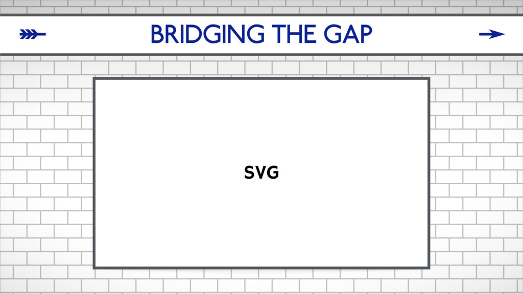 BRIDGING THE GAP SVG δ ζ