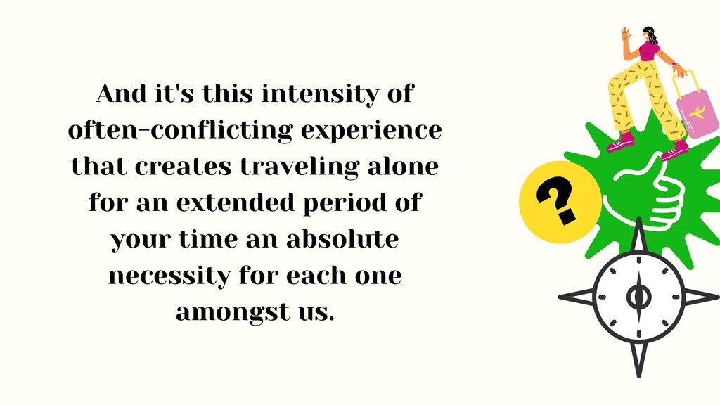 ? And it's this intensity of often-conflicting ...