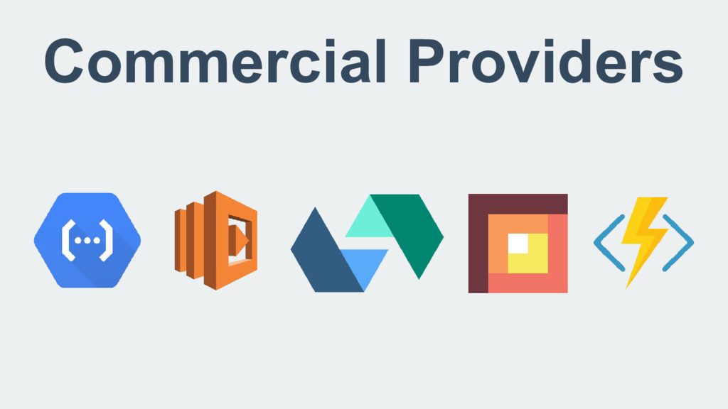 Commercial Providers