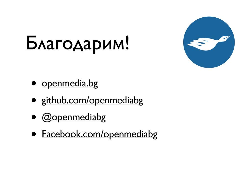 • openmedia.bg • github.com/openmediabg • @open...