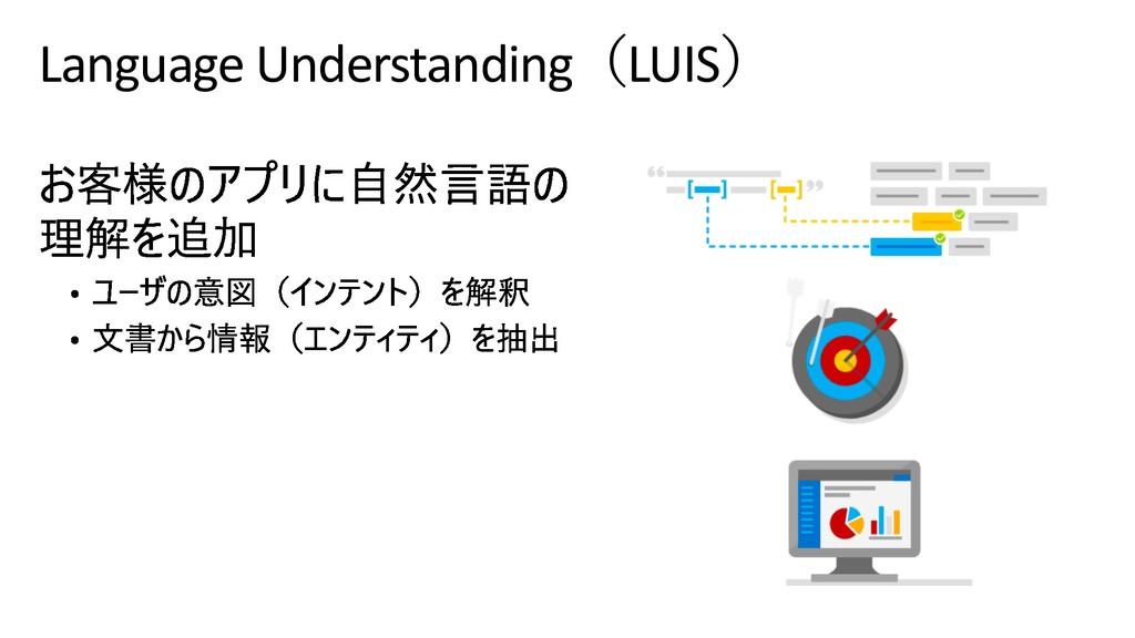 Language UnderstandingLUIS