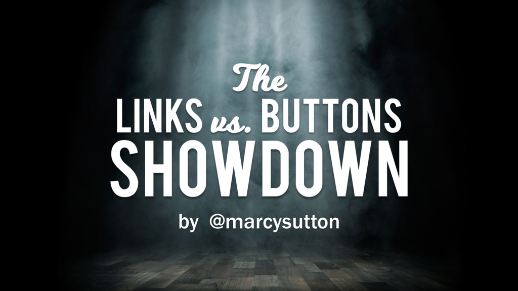 The LinkS vs. Buttons Showdown by @marcysutton