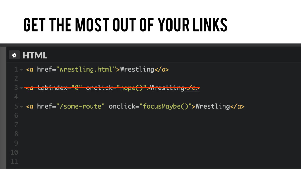 Get the most out of your links