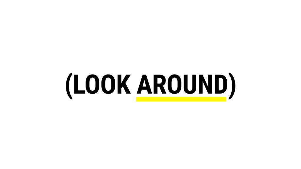 (LOOK AROUND)