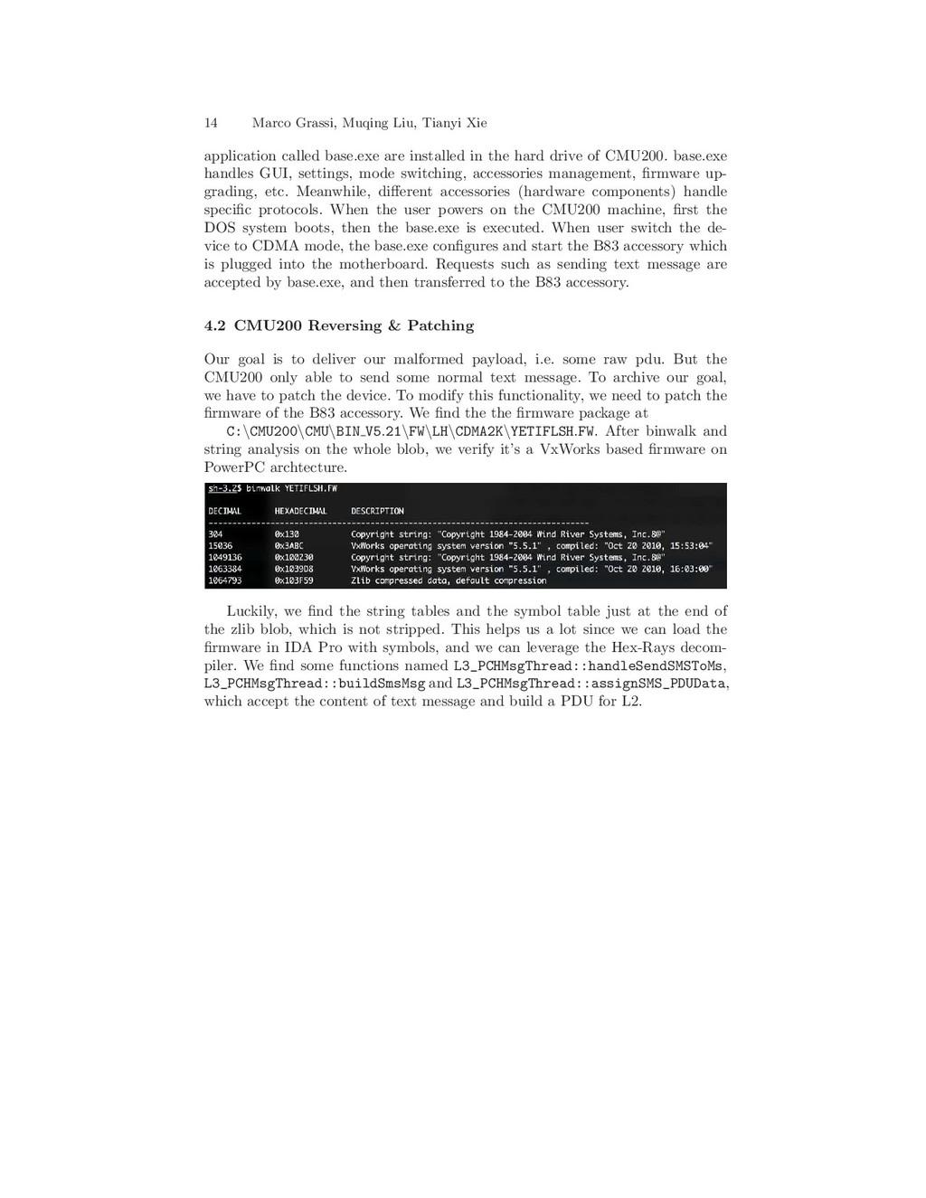 14 Marco Grassi, Muqing Liu, Tianyi Xie applica...