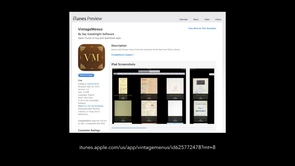 itunes.apple.com/us/app/vintagemenus/id62577247...