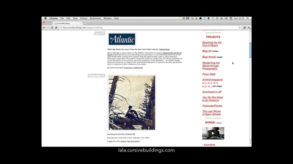 lala.cursivebuildings.com