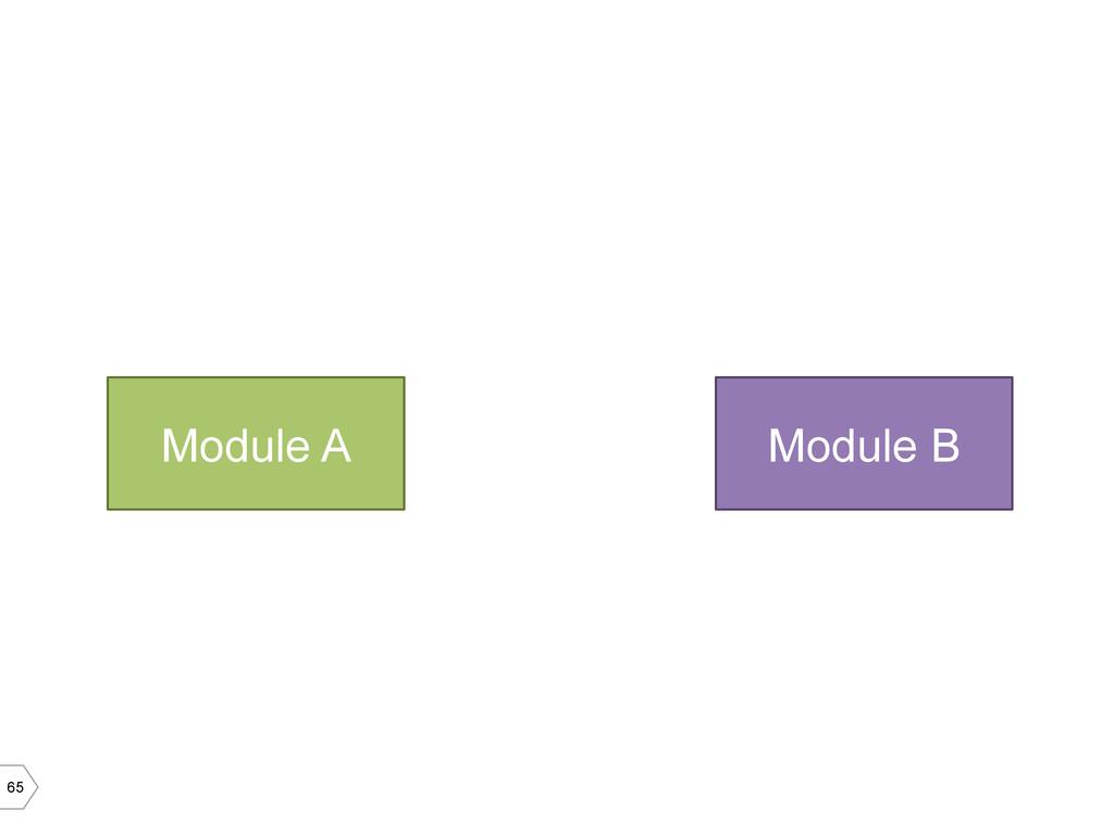 65 Module A Module B