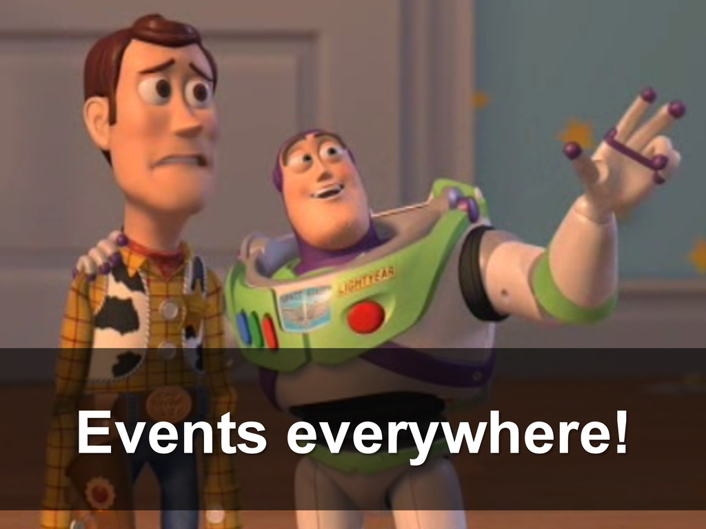 Events everywhere!