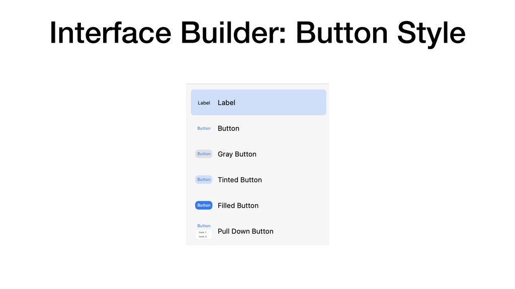 Interface Builder: Button Style