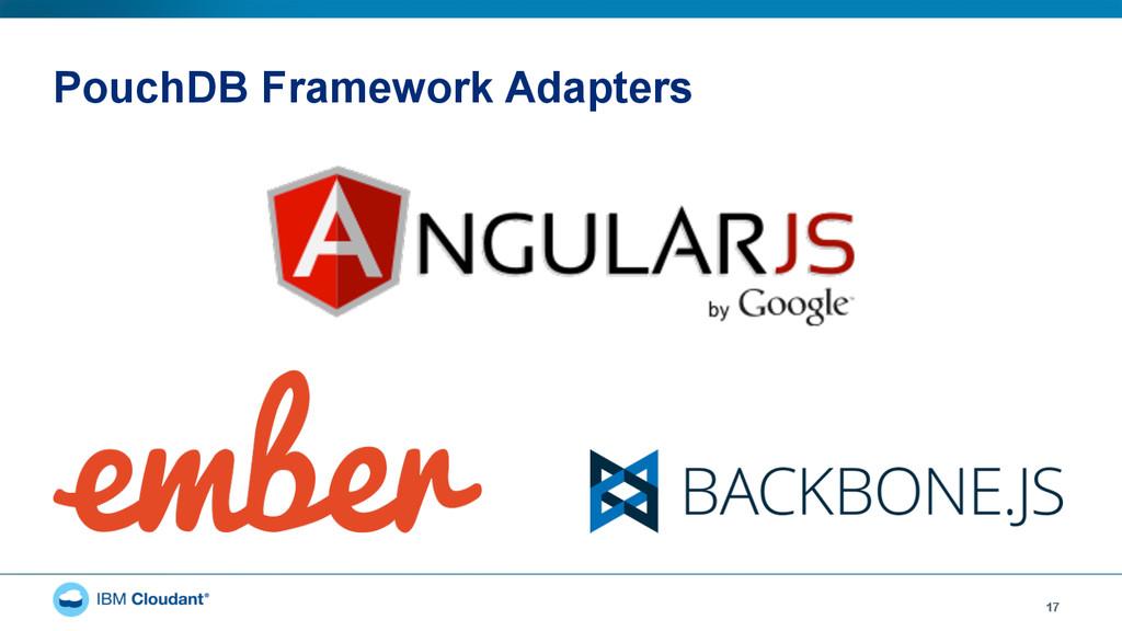 PouchDB Framework Adapters 17