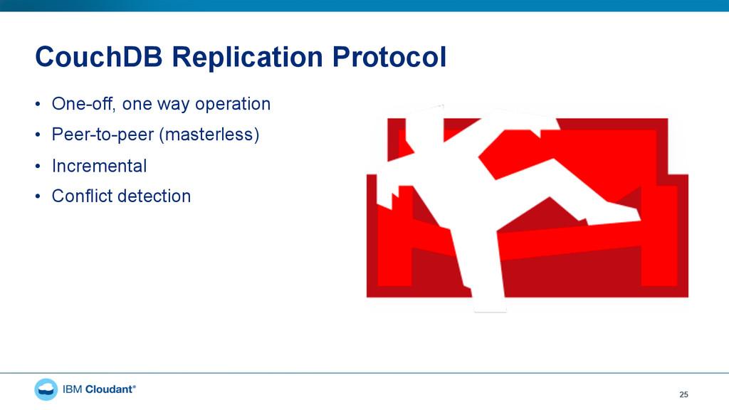CouchDB Replication Protocol • One-off, one wa...