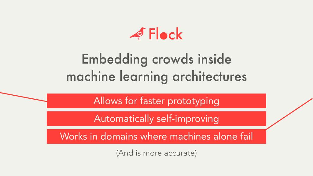 Embedding crowds inside machine learning archit...