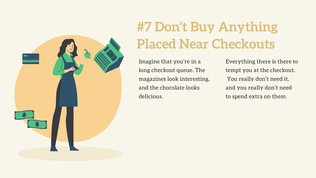 #7 Don't Buy Anything Placed Near Checkouts Ima...
