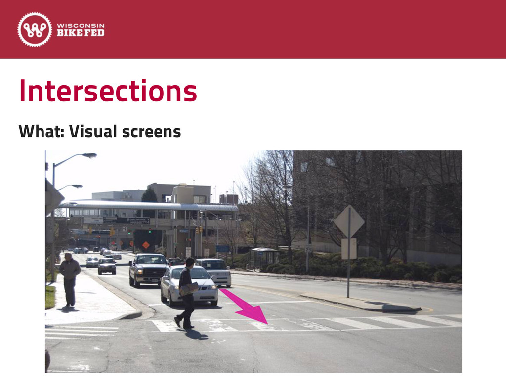 Intersections What: Visual screens