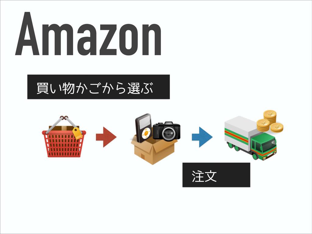 Amazon 買い物かごから選ぶ 注文