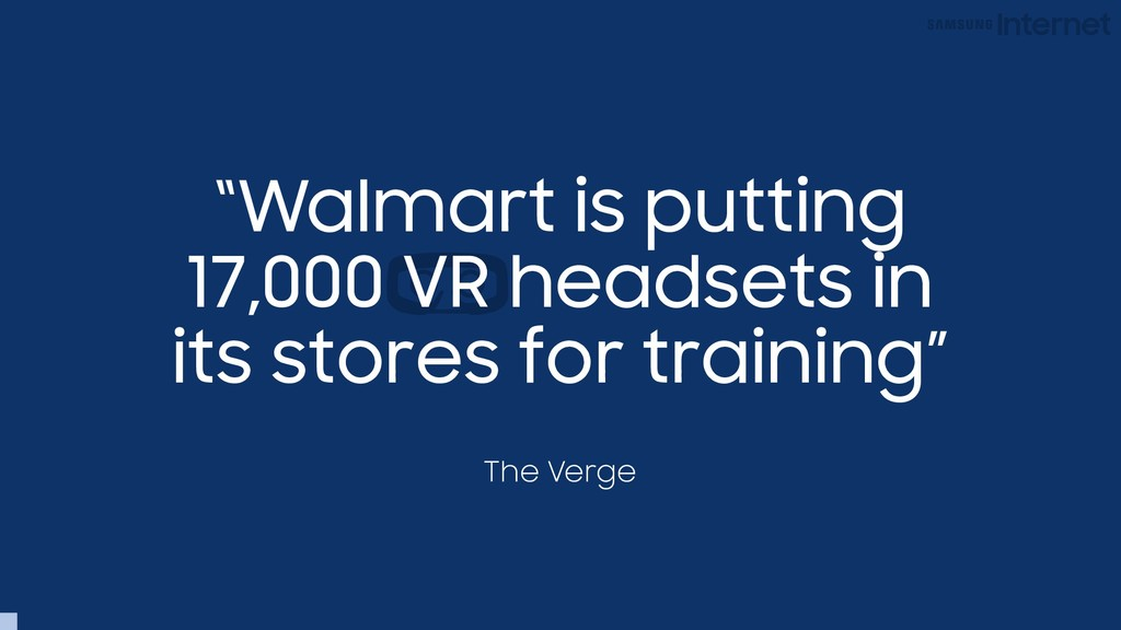 """Walmart is putting 17,000 VR headsets in its s..."